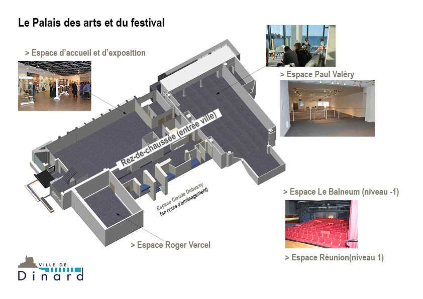 Plan palais des arts - séminaires