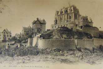 © Carte postale ancienne, la Pointe de la Malouine (Don_AM_17Z9), Archives municipales de Dinard