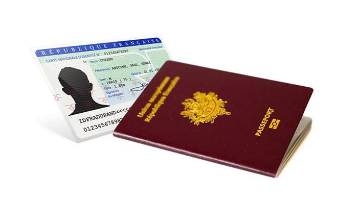 """Résultat de recherche d'images pour """"passeport carte d'identité"""""""