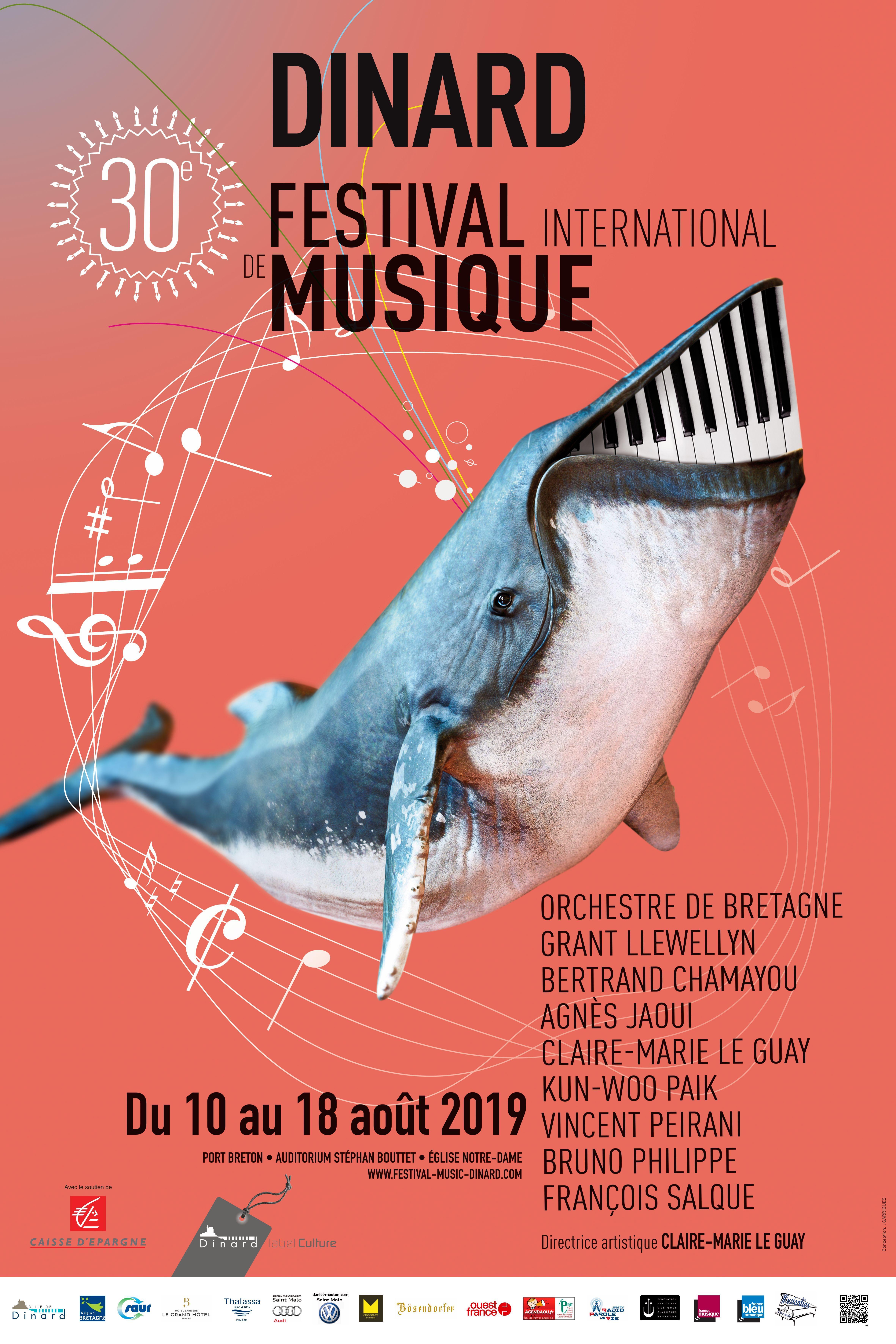 Le Choix De Sophie Dinard 30è festival international de musique classique